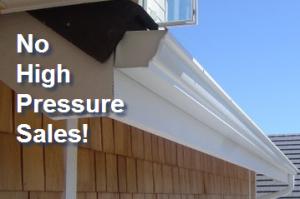 No high pressure sales